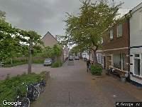 Brandweer naar Groenestraat in Zwolle vanwege waarnemen gaslucht