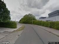 Brandweer naar Zuiderkruisweg in Leeuwarden