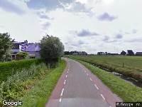 112 melding Besteld ambulance vervoer naar Valweg in Oostvoorne