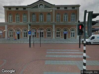 Ambulance naar Stationsplein in Dordrecht