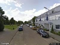 112 melding Ambulance naar Moerbeistraat in Leiden