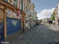 Brandweer naar Vismarktstraat in Breda