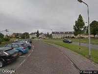 112 melding Ambulance naar Erasmuspark in Ridderkerk
