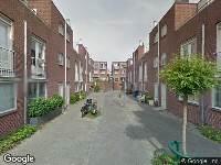 Brandweer naar Fuuthof in Utrecht vanwege verkeersongeval