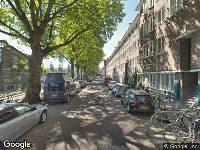 Ambulance naar Olympiaplein in Amsterdam