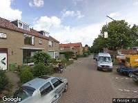 Ambulance naar Molenlaan in Maasdam