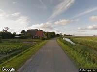 112 melding Brandweer naar Van Albadaweg in Oudebildtzijl vanwege een buitenbrand