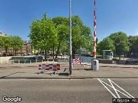 Ambulance naar Jonas Daniël Meijerplein in Amsterdam