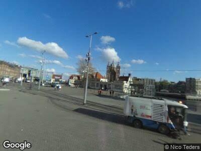 Brandweer naar Stationsplein in Amsterdam vanwege brand