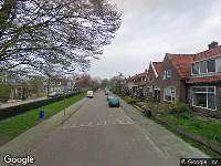 Ambulance en brandweer naar Cambuurstraat in Leeuwarden