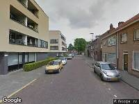 112 melding Ambulance naar Tafelbergstraat in Tilburg