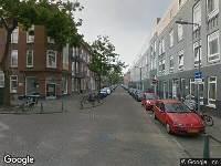 112 melding Brandweer naar Pupillenstraat in Rotterdam