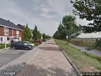 Brandweer naar Paasloostraat in Zwolle