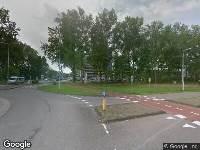 Ambulance naar Wassenaarseweg in Leiden