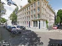 Ambulance naar Eerste Leeghwaterstraat in Amsterdam