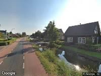 112 melding Besteld ambulance vervoer naar Drechtdijk in De Kwakel