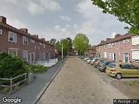 112 melding Ambulance naar Arubastraat in Breda