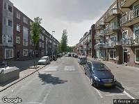 112 melding Ambulance naar Bilderdijkstraat in Rotterdam