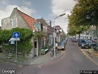 Traumahelikopter naar Gedempte Raamgracht in Haarlem