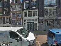 Ambulance naar Spuistraat in Amsterdam