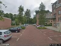 Ambulance naar Aaf Bouberstraat in Amsterdam