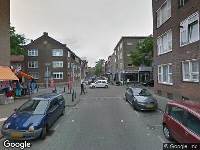 112 melding Ambulance naar Gijsingstraat in Rotterdam