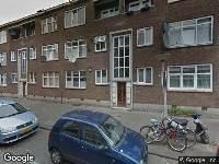 112 melding Brandweer naar Gijsingstraat in Rotterdam