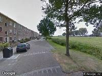 112 melding Politie naar Burgemeester Gaarlandtsingel in Gouda vanwege ongeval met letsel