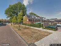 Ambulance naar Eijmerspoelstraat in Leiden