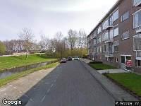 112 melding Ambulance naar Prins Alexanderstraat in Waddinxveen