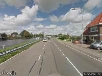 112 melding Politie naar Henegouwerweg in Waddinxveen vanwege ongeval met letsel
