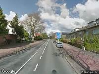 Politie naar Vondellaan in Soest vanwege aanrijding met letsel