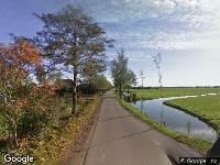 112 melding Traumahelikopter naar Graafland in Groot-Ammers