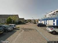 Ambulance naar Anna van Renesseplein in Uitgeest