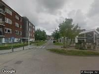 Ambulance naar Van Staverenstraat in Reeuwijk