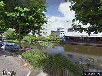 112 melding Brandweer naar Veilingkade in Leiden