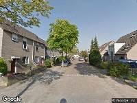 112 melding Ambulance naar Regenwulp in Breda
