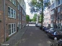 Ambulance naar Le Mairestraat in Amsterdam