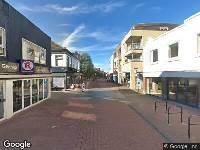 112 melding Brandweer naar Hoofdstraat in Hillegom vanwege wateroverlast