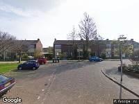 Brandweer naar Dirk Schrijverstraat in Den Helder