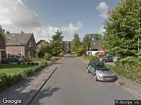 Traumahelikopter naar Agricolastraat in Apeldoorn
