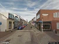 Brandweer naar Nieuwstraat in Den Helder vanwege brand