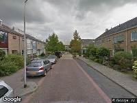 112 melding Ambulance naar Lekstraat in Alphen aan den Rijn