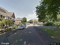 112 melding Ambulance naar Dr. Schaepmanplein in Alkmaar vanwege verkeersongeval