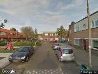 112 melding Ambulance en brandweer naar Paus Leostraat in Haarlem vanwege brand