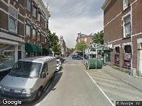 112 melding Brandweer naar Aegidiusstraat in Rotterdam vanwege wateroverlast