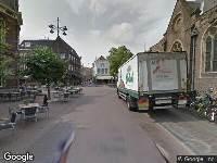 Brandweer naar Klokhuisplein in Haarlem vanwege brand