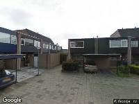 112 melding Ambulance naar Pijnenburg in Dordrecht