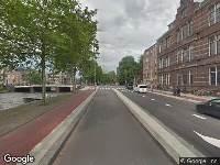 Ambulance naar Mauritskade in Amsterdam