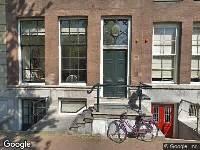 Brandweer naar Lijnbaansgracht in Amsterdam vanwege brand